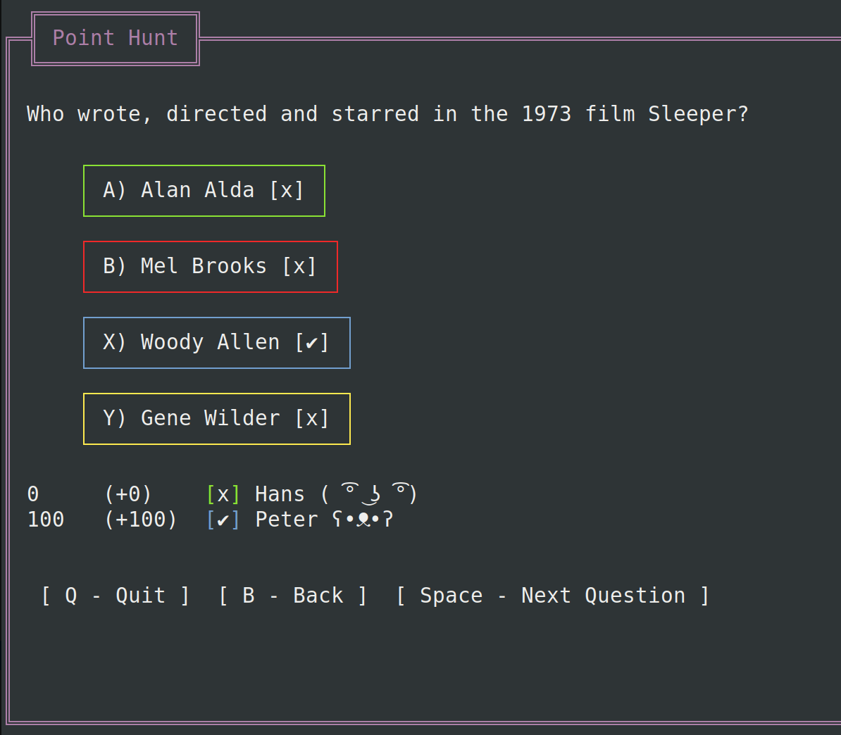 Screenshot: Askutron CLI